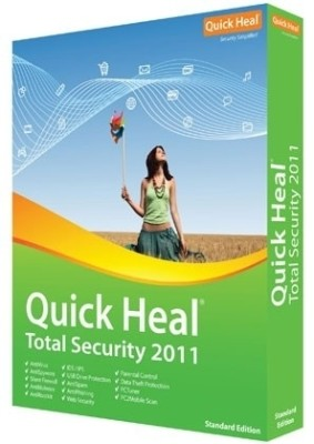 Buy Quick Heal Total Security 2011 2PC 1 Year: Security Software