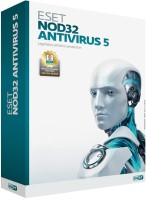 Eset NOD32 Antivirus Version 5 1 PC 1 Year: Security Software