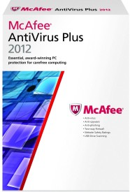 Buy McAfee AntiVirus Plus 2012 1 PC 1 Year: Security Software