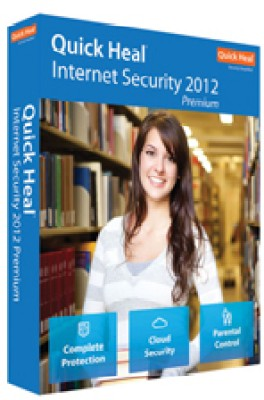Buy Quick Heal Internet Security 2012 3 PC 1 Year: Security Software