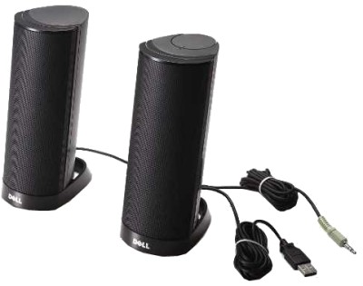 Dell - AX210CR USB Stereo Speaker
