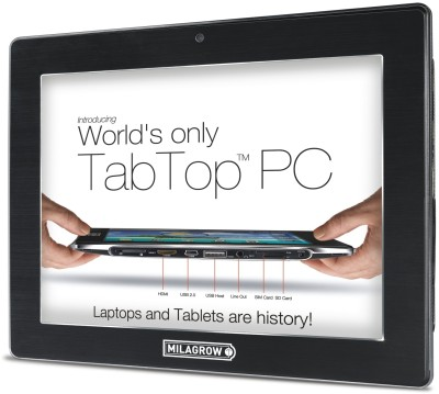 Buy Milagrow TabTop MGPT01-16 GB: Tablet