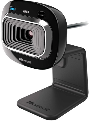 Microsoft Lifecam HD 3000 Webcam (Black)