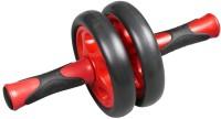 B Fit Usa Exercise Wheel Ab Exerciser (Red, Black)