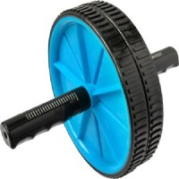 Krazy Fitness Exercise Wheel Ab Exerciser (Black, Blue)