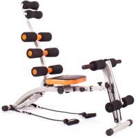 Evana Six Packs Ab Builder Full Body Abdominal Back Leg Arms Exercise Machine Ab Exerciser (Black, Orange)