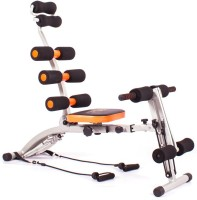 Everything Imported Six Packs Abs Builder For Band Exercises For The Back Ab Exerciser (Orange, Black)