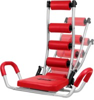 Telebrands Ab Rocket Twister With Flex Master Ab Exerciser (Red)
