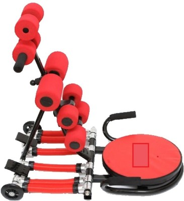 Abrockettwister Advance Pro Gym Ad Rocket Twister Fitness Workout Machine Ab Exerciser (Red, Black)