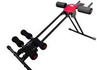 Teledealz Power Plank 5 Minute Shaper For Whole Family Ab Exerciser (Red, Black)