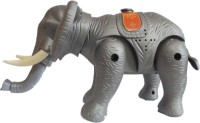 NDS Battery Operated Water Spouting Elephant Toy For Kids (Grey)