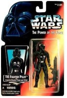 Star Wars Power Of The Force Tie Fighter Pilot Action Figure With Imperial Issue Blaster Pistol (Multicolor)