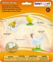 Safari Ltd So Life Cycle Of A Chicken - Multi-color