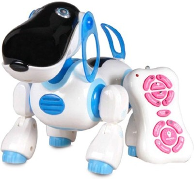 Popular REMOTE CONTROL INFRARED INTELLIGENT SMART DOG ROBOT TOY FOR KIDS (Multicolor)