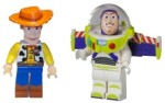 Lego Action Figures Lego Woody and Buzz Lightyear Minifigures Toy Story