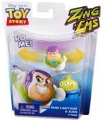 Mattel Action Figures Mattel Disney Pixar Story Zing'Ems Hero Buzz Lightyear & Alien