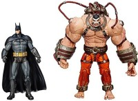 DC Collectibles Batman: Arkham Asylum: Bane Vs. Batman Action Figure, 2-Pack (Multicolor)