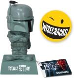 Funko Action Figures Funko Star Wars Wisecracks Boba Fett Totally Fett Up Bobble Head