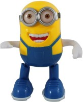 Littlegrin Battery Operated Singing Dancing Minions Toy For Kids (Multicolor)