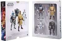 Star Wars Digital Release Commemorative Collection Box Set - Episode 2 Attack Of The Clones 3.75-Inch Figures (Multicolor)