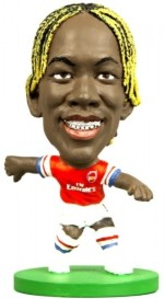 Soccerstarz Action Figures Soccerstarz Arsenal Bacary Sagna Home Kit