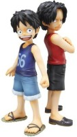 Megahouse Excellent Model Portrait.Of.Pirates One Piece CB-EX Luffy & Ace Bros (PVC Figure) [JAPAN] (Multicolor)