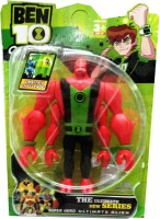 Shop & Shoppee Ben 10 Ultimate New Series Super Hero Alien Figure (Multicolor)