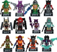 Hasbro Transformers Kreo Micro Changers Complete Set Of 12 Minis (Multicolor)