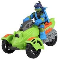 Playmates Teenage Mutant Ninja Turtles Ninja AT3 Vehicle With Leo Figure (Multicolor)