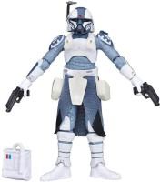 Funskool Star Wars The Black Series Clone Commander Wolffe Figure (Multicolor)