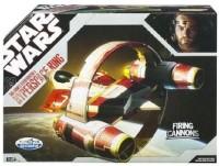 Hasbro Star Wars 30th Anniversary Saga 2007 Exclusive Obi-Wan's Starfighter & Hyperspace Ring (Multicolor)
