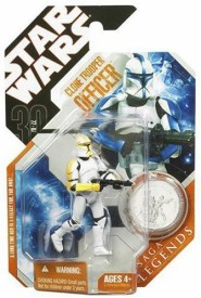 Star Wars 30th Anniversary Clone Trooper Officer with Coin (Colors May Vary)