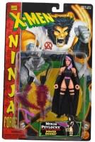 Marvel Comics Year 1996 Xmen Ninja Force Series 51/2 Inch Tall (Multicolor)