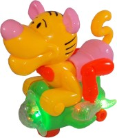Parteet Swing Tiger With Light & Music For Kids (Multicolor)