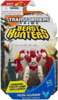 Funskool Action Figures Funskool Transformers Prime Beast Hunters Hun Gurrr Berserker Infantry Figure