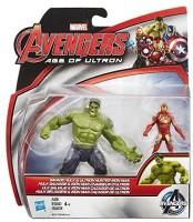 Marvel Avengers Age Of Ultron Savage Hulk Vs Ultron Hunter Iron Man (Multicolor)