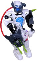 Shoplorry White Color Earth Heroes Action Figures Toy (White)