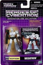 Transformers Action Figures Transformers Heroes Of Cybertron Megatron Pvc