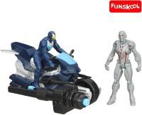 Funskool Marvel Avengers Age Of Ultron Ultimate Vs. Iron Man (Multicolor)