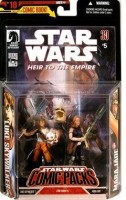 Hasbro Star Wars Comic Packs #10 With Heir To The Empire Comic #5 And Luke Skywalker And Mara Jade Action Figures (Multicolor)