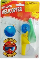 Raghav Balloon Helicopter For Kids (Green)
