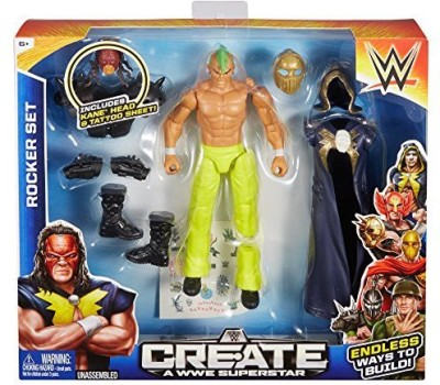 Mattel Create a WWE Superstar Kane Rocker Pack