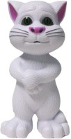 Rey-Hawk Touch Talking Tom Cat Toy With Recording (White)