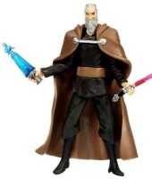 Toy Rocket Count Dooku CW27 Star Wars Clone Wars Action Figure (Black, Brown)