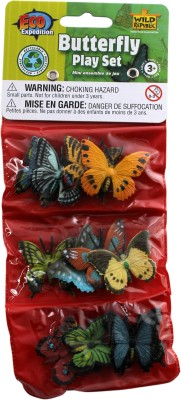 Wild Republic Action Figures Wild Republic Butterfly Playset
