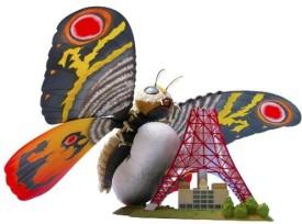 Sci-Fi Revoltech Godzilla Revoltech Scifi Super Poseable Mothra