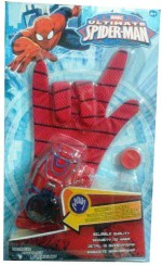 Shop & Shoppee Action Figures Shop & Shoppee Ultimate Spiderman Gloves with Disc launcher