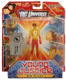 DC COMICS Universe Exclusive Young Justice Action Figure Kid Flash
