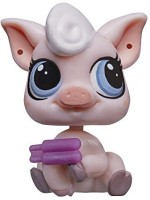 Littlest Pet Shop Get The Pets Single Pack Lolly Pinkington Doll (Multicolor)