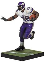 McFarlane Toys NFL Series 34 Adrian Peterson Action Figure (Multicolor)